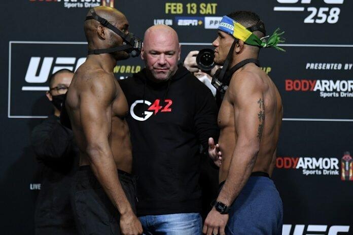 Kamaru Usman and Gilbert Burns, UFC 258