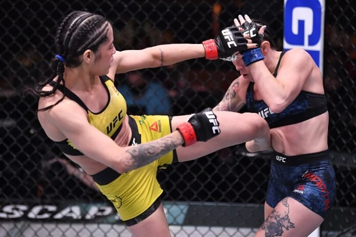 Polyana Viana and Mallory Martin, UFC 258