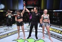 Polyana Viana and Emily Whitmire, UFC