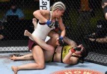 Yana Kunitskaya and Ketlen Vieira, UFC Vegas 19