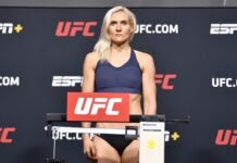 Yana Kunitskaya UFC Vegas 19 weigh-in