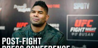 UFC Vegas 18 presser - Alistair Overeem