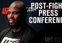 UFC Vegas 20 press conference