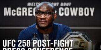 UFC 258 press conference live stream