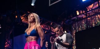 Paige VanZant weights in for BKFC's knucklemania