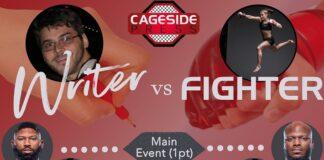 Writer vs. Fighter UFC Vegas 19