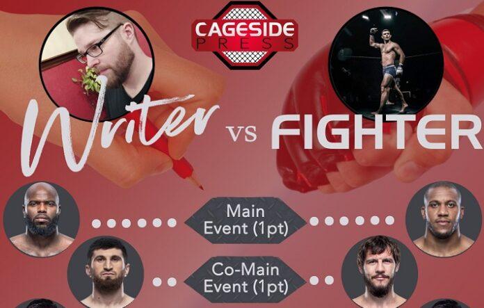 Writer vs Fighter UFC Vegas 20 Orion Cosce