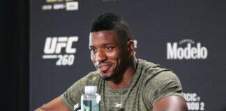 Alonzo Menifield, UFC 260 media day