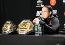 Amanda Nunes UFC 259 post-fight