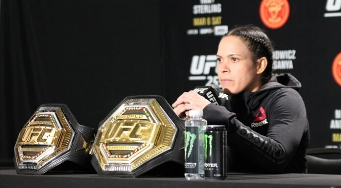 Amanda Nunes UFC 259 post-fight