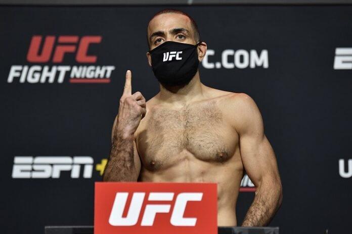 Belal Muhammad UFC Vegas 21 weigh-in