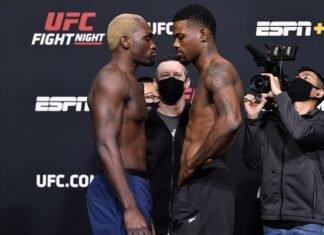 Derek Brunson and Kevin Holland, UFC Vegas 22