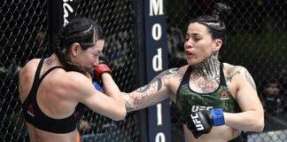 Cheyanne Buys and Montserrat Ruiz, UFC Vegas 22