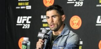 Dominick Cruz, UFC 259 media day