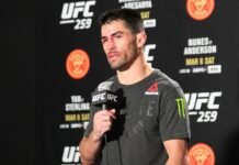 Dominick Cruz UFC 259 post-fight