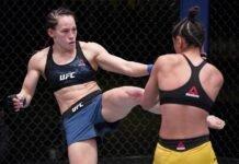 Jinh u Frey and Gloria de Paula, UFC Vegas 21