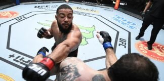 Trevin Giles and Roman Dolidze, UFC Vegas 22