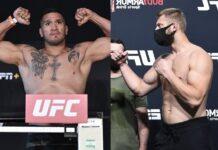 Ike Villanueva and Marcin Prachnio, UFC
