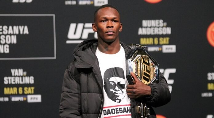 Israel Adesanya, uFC 259 press conference