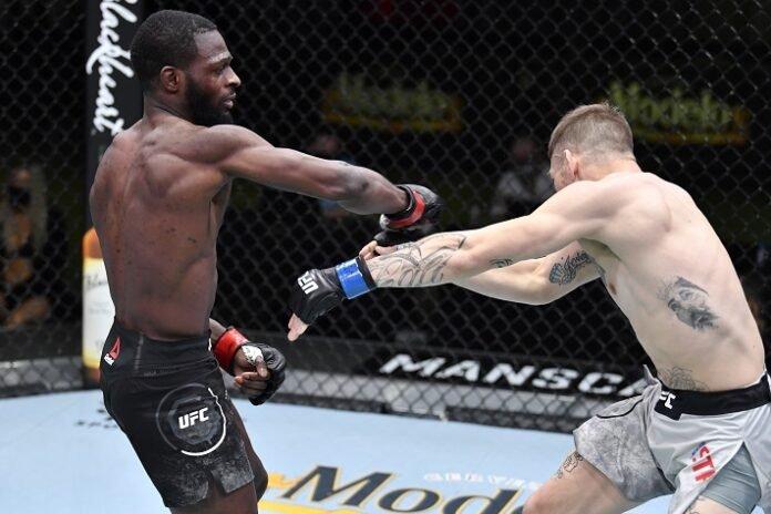 Montel Jackson and Jesse Strader, UFC Vegas 22