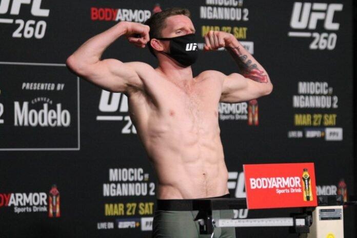 UFC Jamie Mullarkey
