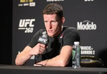 Jamie Mullarkey, UFC 260