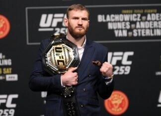 Jan Blachowicz UFC 259