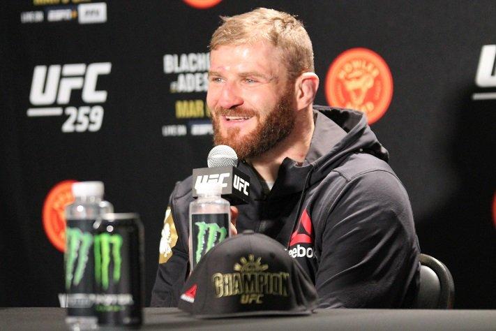 Jan Blachowicz, UFC 259 post-fight