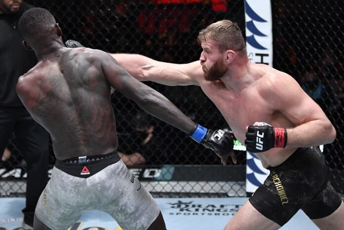 Israel Adesanya and Jan Blachowicz, UFC 259