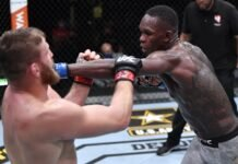 Jan Blachowicz and Israel Adesanya, UFC 259