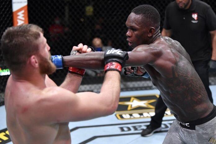 Jan Blachowicz and Israel Adesanya, UFC 259