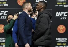Jan Blachowicz and Israel Adesanya, UFC 259 presser
