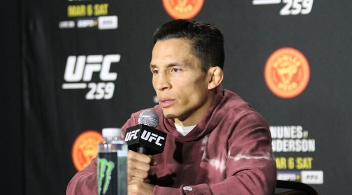 Joseph Benavidez, UFC 259 media day