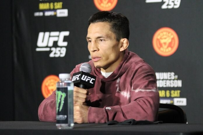 Joseph Benavidez, UFC 259 media day