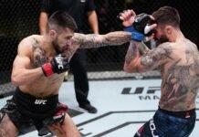 Charles Jourdain and Marcelo Rojo UFC Vegas 21