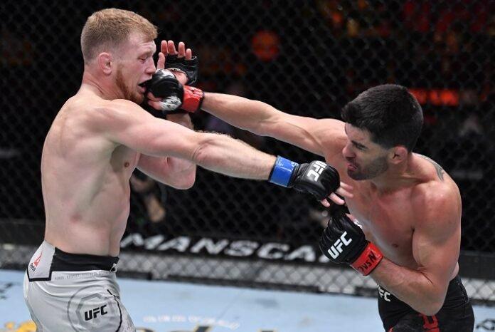 Casey Kenney and Dominick Cruz, UFC 259
