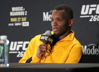 Khama Worthy UFC 260 media day