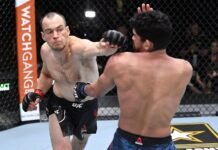 Uros Medic and Aalon Cruz, UFC 259