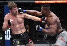 Stipe Miocic and Francis Ngannou, UFC 260