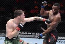 Jamie Mullarkey and Khama Worthy, UFC 260