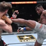 Francis Ngannou and Stipe Miocic, UFC 260