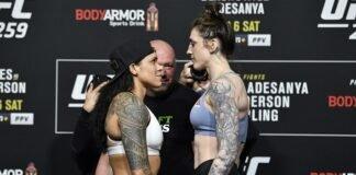 Amanda Nunes and Megan Anderson, UFC 259