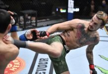 Thomas Almeida and Sean O'Malley, UFC 260