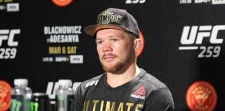 Petr Yan UFC 259 post-fight