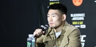 Song Yadong, UFC 259 media day