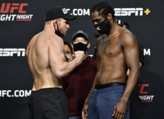 Misha Cirkunov and Ryan Spann UFC Vegas 21