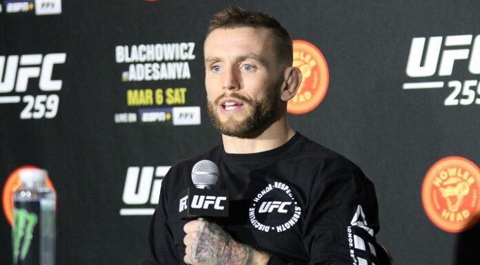 Tim Elliott UFC 259 media day