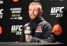 Tim Elliott, UFC 259 post-fight