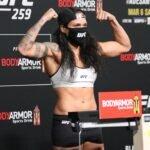 Amanda Nunes, UFC 259 weigh-in