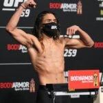 Kyler Phillips UFC 259 weigh-in